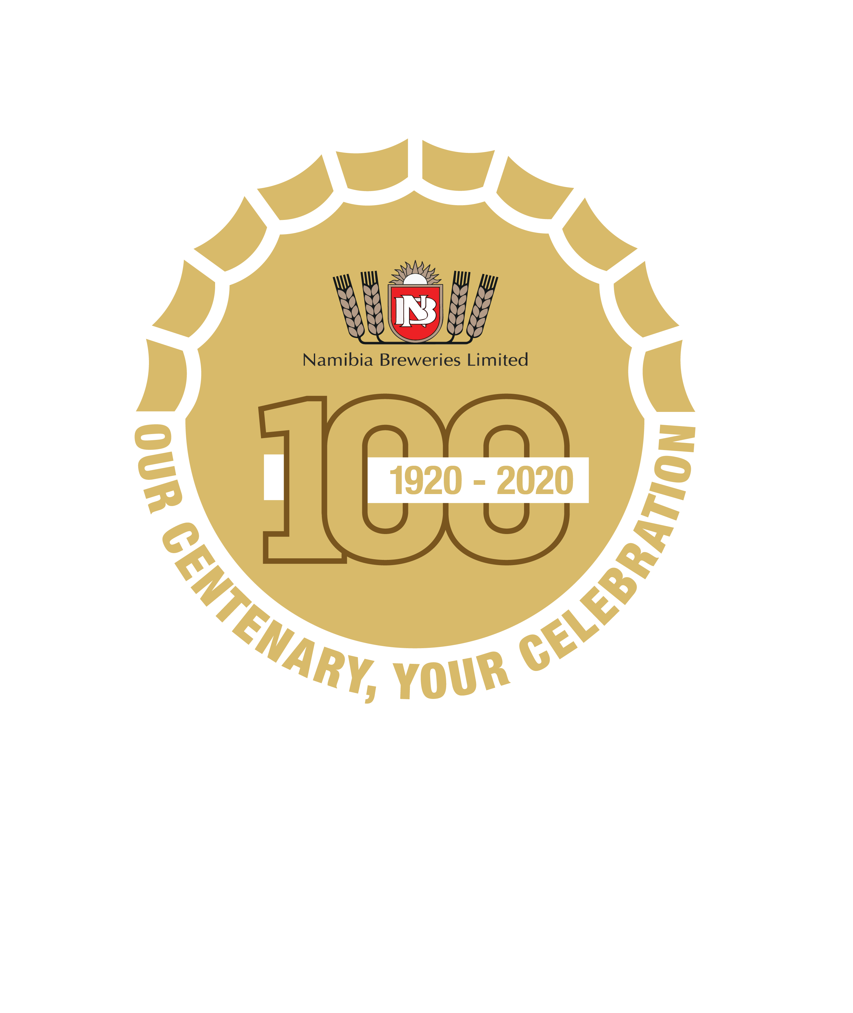 Namibia Breweries Limited Centenary Logo